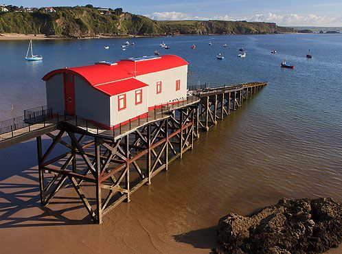 Tenby - Old Lifeboat Station